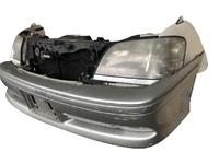 Ноускат серый бампер, радиаторы, суппорт, фара, ПТФ, усилитель, бачок, юбка, диффузор TOYOTA CROWN S170 1999-2007