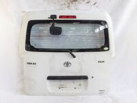 Крышка багажника белая в сборе со стеклом, зеркалом и стеклоочистителем (отличное состояние) TOYOTA TOWN ACE TOWNACE S400 2008-2020