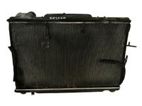 Радиатор охлаждения в сборе с диффузором и штуцерем обратки TOYOTA ESTIMA R10 / R20 1990-1999