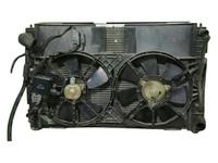 Радиатор охлаждения в сборе с диффузором и моторчиками, АКПП MAZDA TRIBUTE