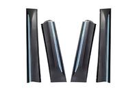 Молдинги дверей задние+передние левые+правые тюнинг комплект 4 шт. SKODA KODIAQ