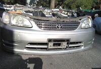 Ноускат серый в сборе бампер, радиаторы, суппорт, фары, поворотники, усилитель, решетка, диффузор TOYOTA COROLLA SPACIO E110 1997-2001