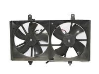 Диффузор вентилятора охлаждения радиатора в сборе с моторами и крыльчатками (хорошее состояние) NISSAN TEANA J31 2003,2004,2005