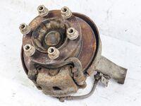 Кулак поворотный левый в сборе ступица, диск, суппорт MITSUBISHI CANTER FB6 / FE5 / FE6 1994,1995,1996,1997,1998,1999,2000,2001,2002