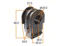 Втулка стабилизатора передней подвески NISSAN X-TRAIL T32 2014,2015,2016,2017,2018,2019
