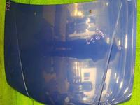 Капот синий в сборе с шумоизоляцией (мелкие вмятинки) NISSAN AVENIR II W11 1998-2005