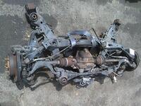 Балка (подрамник) задняя в сборе с дисками, рычагами, кулаками, приводами и суппортами тормозными, 2WD АКПП NISSAN CEDRIC IX Y33 1995,1996,1997,1998,1999
