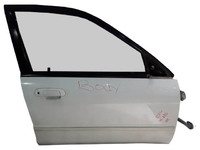 Дверь передняя правая белая в сборе MAZDA FAMILIA BJ 1998,1999,2000,2001,2002,2003,2004