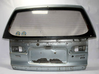 Крышка багажника серебро со стеклом MITSUBISHI SPACE WAGON / CHARIOT GRANDIS SPACE WAGON / CHARIOT II 91-97 N44W 1991,1992,1993,1994,1995,1996,1997