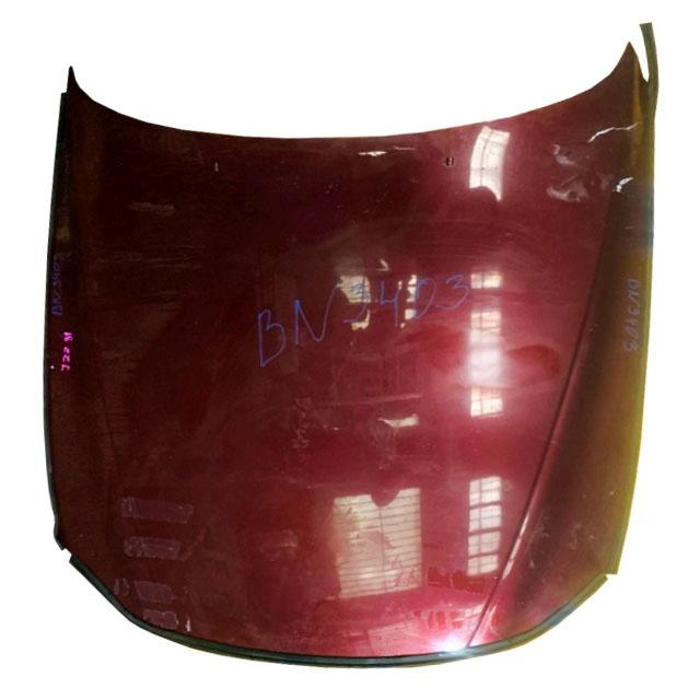 Капот красный в сборе с шумоизоляцией (Б/У) для TOYOTA SOARER Z30 1991-2001