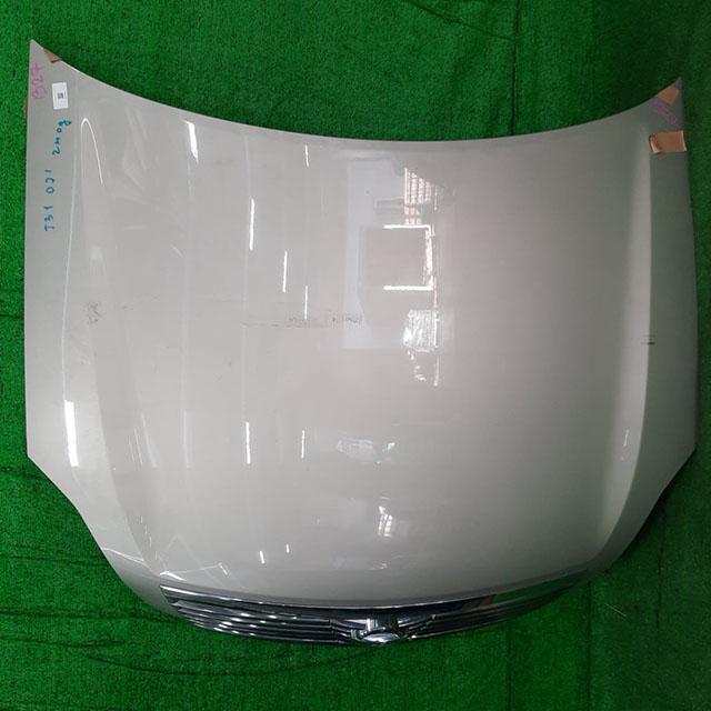 Капот бежевый в сборе с решеткой радиатора, шумоизоляцией (тычек) (Б/У) для NISSAN TEANA J31 2003-2008