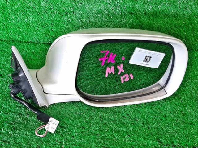 Зеркало заднего вида (боковое) правое электро, 7 контактов, с повторителем (Б/У) для TOYOTA MARK X X120 2006-2009