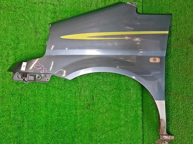 Крыло переднее левое серо-голубое в сборе с повторителем  631014N050_BU