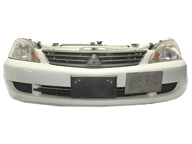 Ноускат белый в сборе бампер, суппорт, радиаторы, фары, заглушки, решетка, диффузор, усилитель МКПП (Б/У) для MITSUBISHI LANCER IX