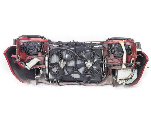 Ноускат красный в сборе бампер, суппорт, радиаторы, фары ксенон, ПТФ, решетка, диффузор, усилитель, бачок 4WD АКПП (Б/У) для NISSAN X-TRAIL T30 2001-2007