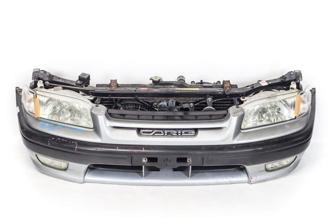 Ноускат серебро в сборе бампер, суппорт, радиаторы, фары, ПТФ, поворотники, диффузоры, усилитель 2WD АКПП  5211913120B0_BU