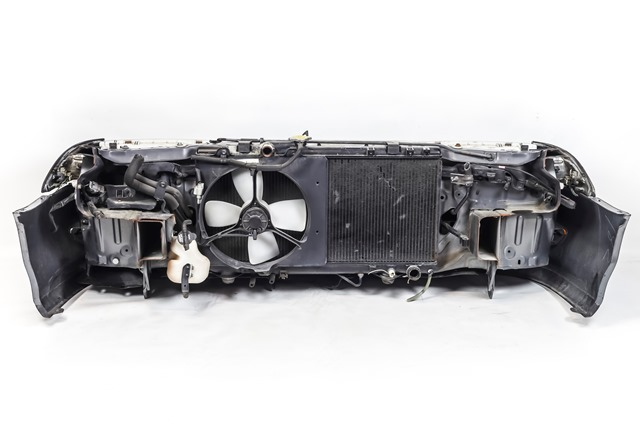 Ноускат серый в сборе бампер, суппорт, радиаторы, фары, повторители, решетка, диффузоры, усилитель, бачок АКПП (Б/У) для TOYOTA CARINA ED T180 1989-1993