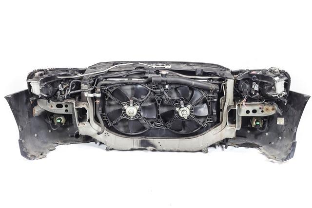 Ноускат черный в сборе бампер, суппорт, радиаторы, фары ксенон, ПТФ, губы, решетки, диффузор 4WD АКПП (Б/У) для MITSUBISHI LANCER X CY / CVY 2007-2010
