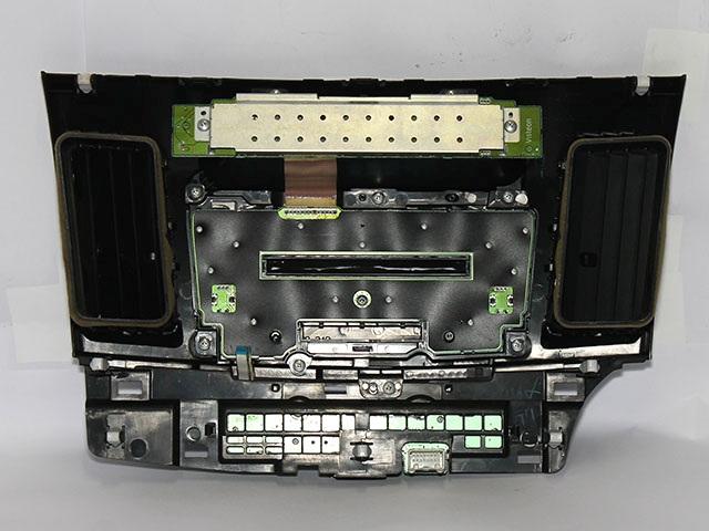 Панель магнитолы (Б/У) для MITSUBISHI LANCER X