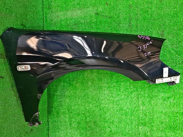 Крыло переднее правое темно-синее в сборе с кронштейном, повторителем (Б/У) для NISSAN TEANA J31 2003-2008
