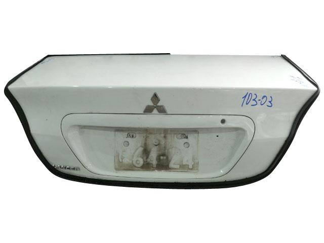 Крышка багажника белая (Б/У) для MITSUBISHI LANCER IX