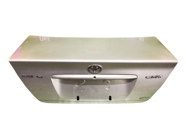 Крышка багажника серая в сборе с обшивкой (Б/У) для TOYOTA CAMRY XV30 2001-2006