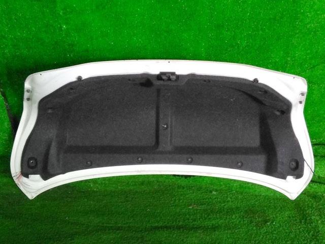 Крышка багажника белая в сборе с обшивкой, с фонарями (Б/У) для TOYOTA CAMRY XV40 2006-2011