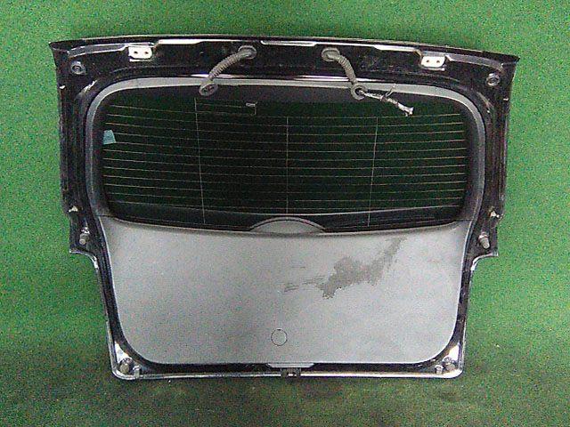 Крышка багажника черная в сборе со стеклом, с замком, с камерой (Б/У) для MAZDA CX-7