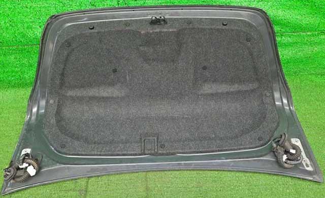 Крышка багажника темно-синяя в сборе с замком, с накладкой хром, камерой (вмятина) (Б/У) для NISSAN TEANA J32 2008-2011