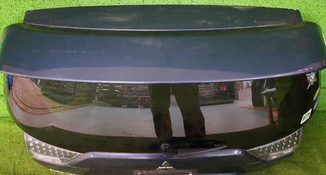 Крышка багажника синяя в сборе со стеклом, спойлер высокий, стеклоочиститель, фонари, петли (Б/У) для MITSUBISHI OUTLANDER / AIRTREK OUTLANDER XL CW 2010-2012