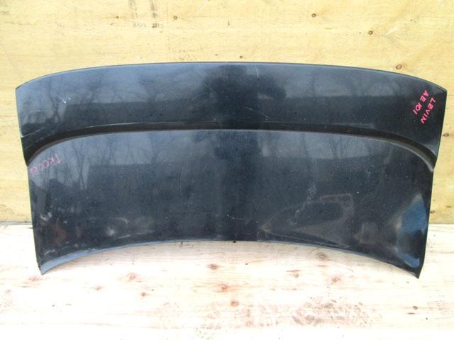Крышка багажника черная со спойлером (Б/У) для TOYOTA COROLLA LEVIN E100 1991-1995