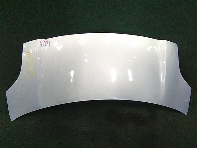 Капот серебро (Б/У) для TOYOTA YARIS / VITZ / BELTA P90 2006-2009