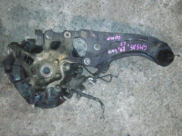 Кулак задний правый в сборе диск, суппорт, ABS, рычаг, 2WD (Б/У) для MAZDA ATENZA GH 2008-2012