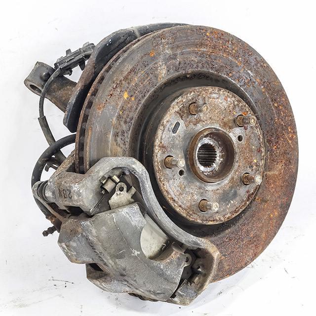 Кулак поворотный левый в сборе со ступицей, диск, суппорт 4WD (Б/У) для TOYOTA CAMRY XV40 2006-2011