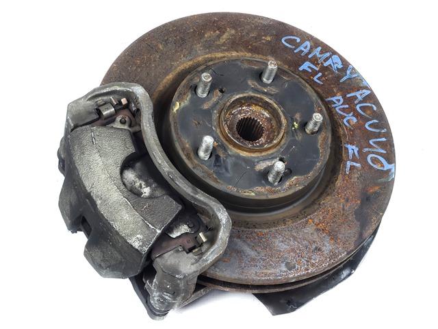 Кулак поворотный левый в сборе со ступицей, диск, суппорт, ABS 2WD  4321258010_5BU