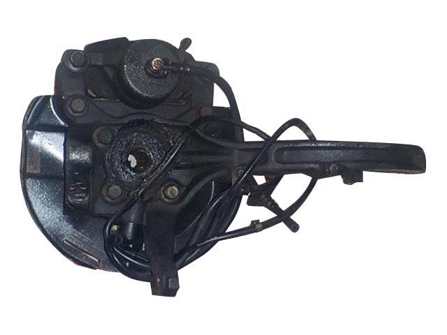 Кулак поворотный правый в сборе со ступицей, диск, суппорт, ABS 2WD АКПП (Б/У) для MITSUBISHI GALANT