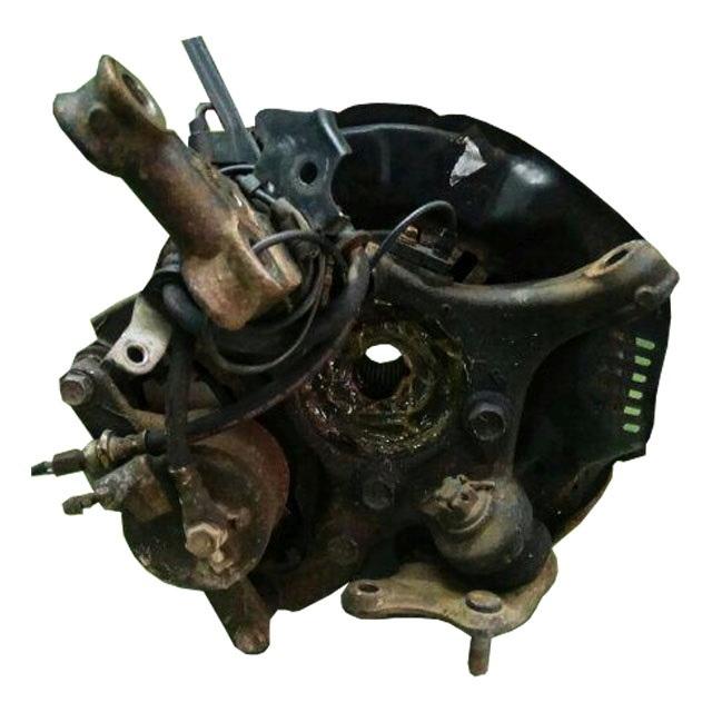 Кулак поворотный правый в сборе диск, суппорт, ABS, 4WD АКПП (Б/У) для TOYOTA BLADE E150 2006-2009