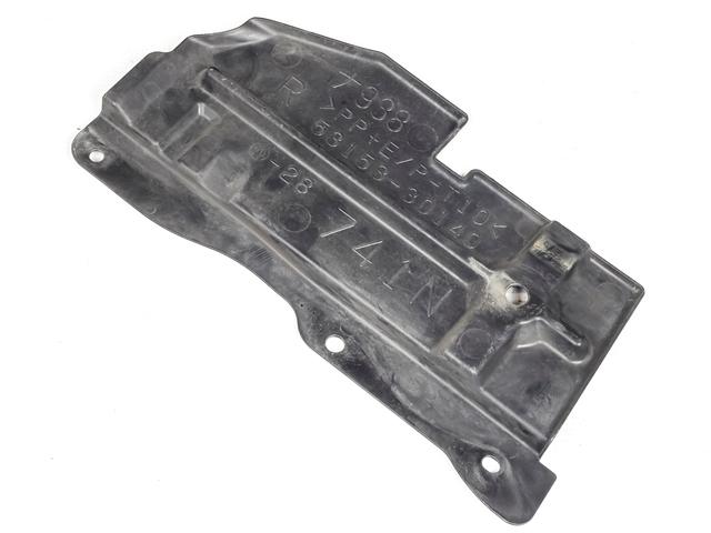 Воздуховод радиатора (дефлектор) правый (Б/У) для TOYOTA CROWN MAJESTA S180 2004-2006
