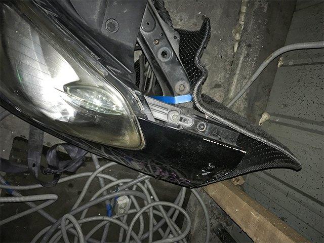Ноускат синий в сборе бампер, радиаторы, суппорт, фары, заглушки ПТФ, решетка радиатора, бачок, диффузор  F2022EW000_3BU