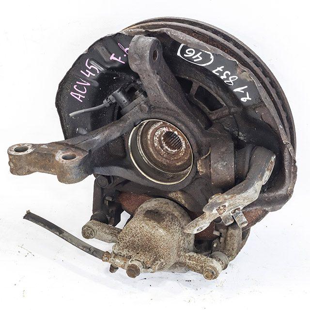 Кулак поворотный правый в сборе со ступицей, диск, суппорт 4WD (Б/У) для TOYOTA CAMRY XV40 2006-2011
