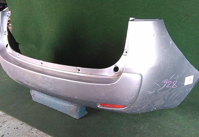 Бампер задний серый с катафотами (царапины) (Б/У) для MITSUBISHI COLT PLUS IV Z20 2004-2012