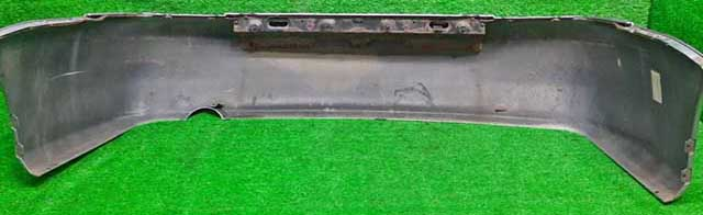 Бампер задний серебро в сборе с усилителем (потерт)  MN161082HA_4BU