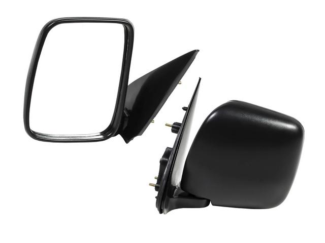 Зеркало заднего вида (боковое) левое механическое Уценка 30% (трещина рамки держателя зеркального элемента) (уценка) для TOYOTA HIACE H200 2004-2010