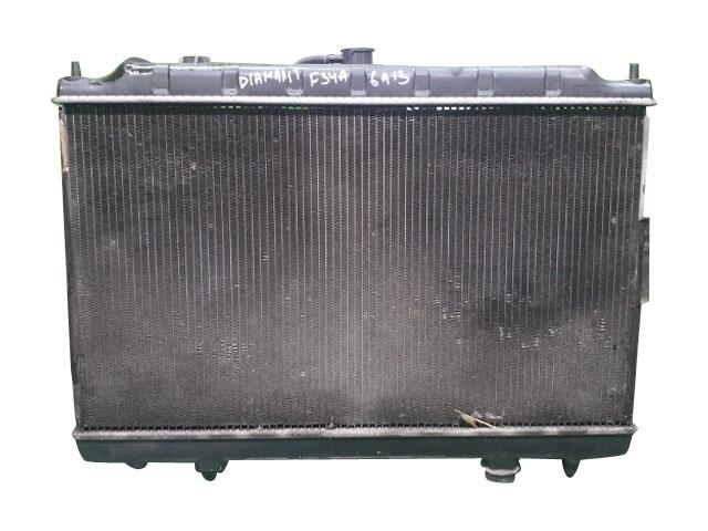 Радиатор охлаждения в сборе с диффузором, моторчиками и крыльчатками, без крышки, 2WD АКПП (Б/У) для MITSUBISHI DIAMANTE F3 1995-2005