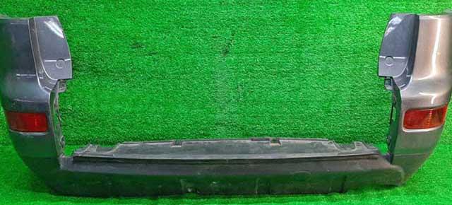 Бампер задний серый в сборе боковины, катафоты (потерт, царапины) (Б/У) для MITSUBISHI OUTLANDER / AIRTREK OUTLANDER XL CW 2007-2010