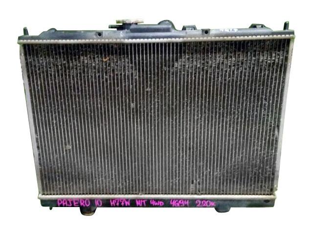 Радиатор охлаждения в сборе с диффузором, МКПП 4WD (Б/У) для MITSUBISHI PAJERO PININ / IO