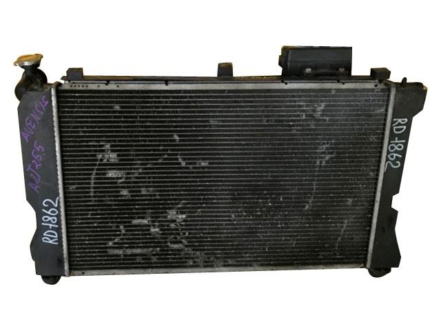 Радиатор охлаждения в сборе с диффузором, моторчиками и блоком предохранителей (Б/У) для TOYOTA AVENSIS T250 2003-2008