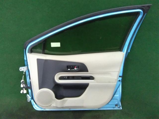 Дверь передняя правая голубая в сборе  6700152590_1BU