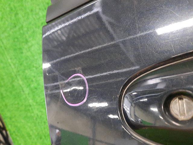 Дверь передняя правая черная в сборе (мелкие тычки) (Б/У) для MAZDA MPV LW 1999-2006