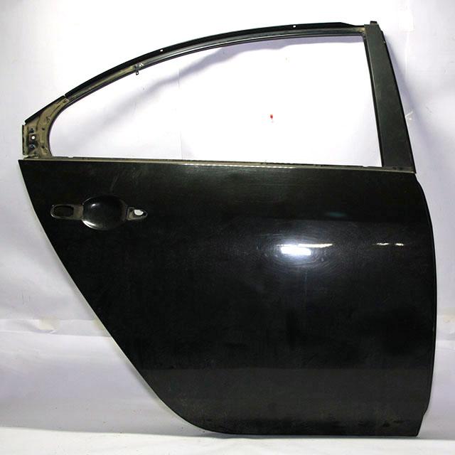 Дверь задняя правая черная (дефект) (Б/У) для NISSAN PRIMERA III P12 2002-2008
